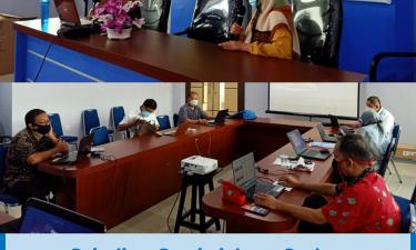 Pelatihan Pembelajaran Daring Dosen Prodi IKL FPIK UMI oleh TIM PSMF FPIK UMI